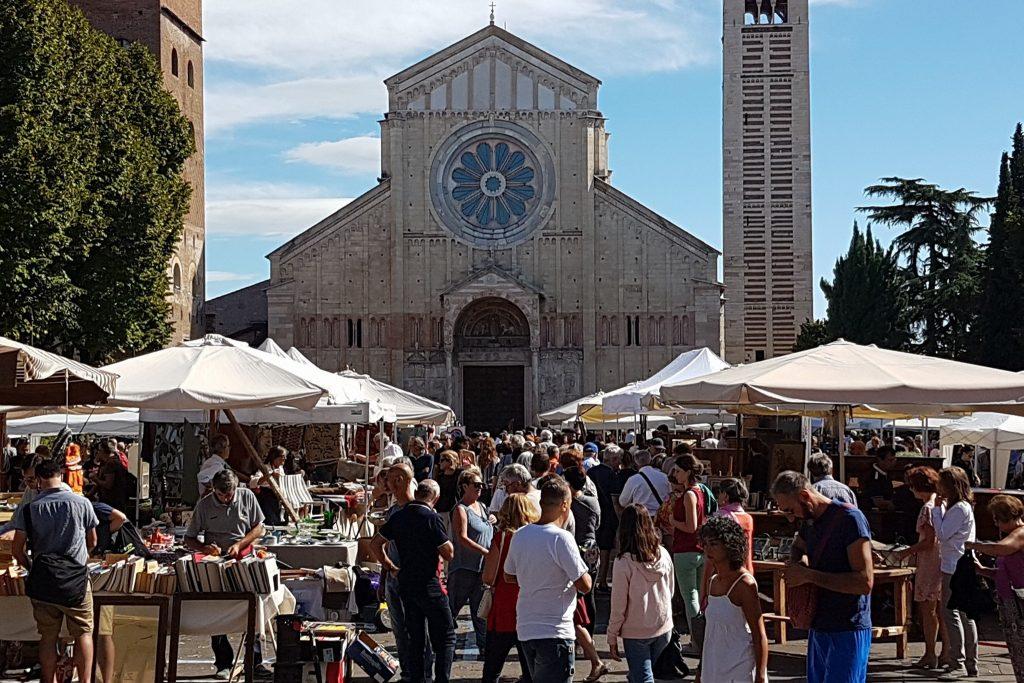 Il mercato di San Zeno